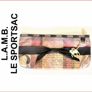 Gwen Stefani L.A.M.B for LeSportsac Plaid Clutch